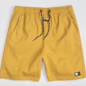 LIRA Forever Volley 2.0 Mustard Shorts